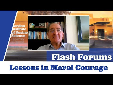 Brian Currin on 'What is Moral Courage'
