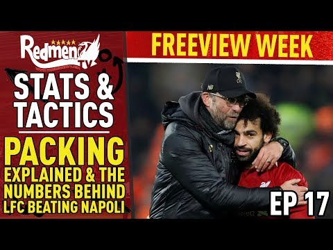 Packing Explained & The Numbers Behind Liverpool Beating Napoli | Episode 17 | Stats & Tactics