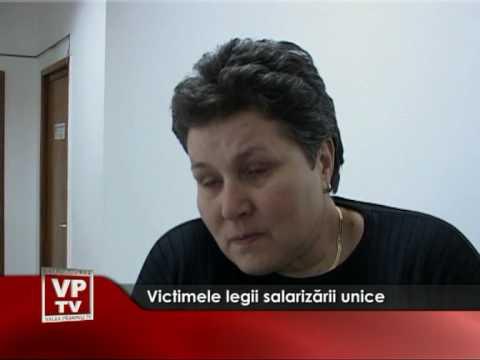 Victimele legii salarizarii unice