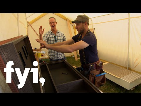 Tiny House Nation: Coffee Table Editing Chest (Season 4, Episode 9)   FYI