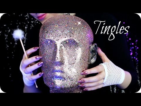 ASMR Satisfying Head Peeling, Face & Ear Cleaning, Konjac Sponges, Tapping, Scratching & MORE