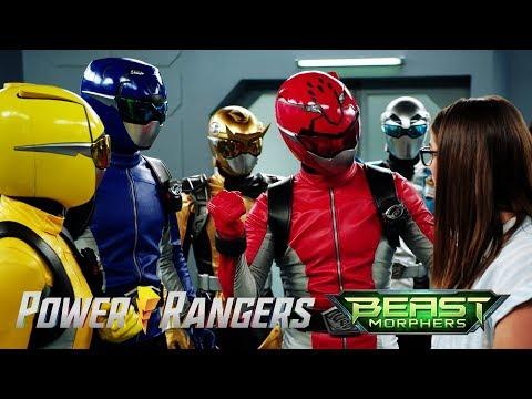Gamer meets the Power Rangers | Power Rangers Beast Morphers | Power Rangers Official