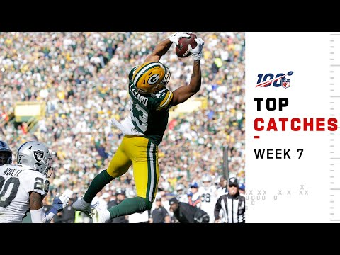 Top Catches from Week 7  NFL 2019 Highlights