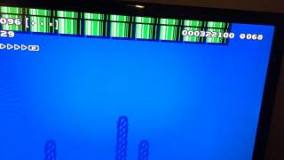 I was playing 100 Mario challenge and I came across a stage with a bunch of pipes. I go down a pipe, and the game froze. All exit ...
