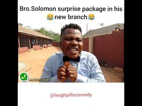 Bro. Solo's new package (LaughPillsComedy)