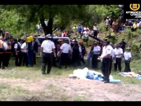 Varios muertos y heridos en accidente en San Martín Jilotepeque, Chimaltenango