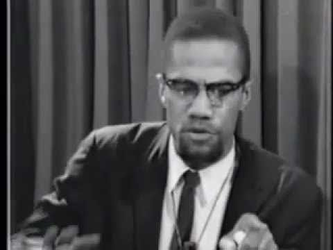 From brother Malcolm X's mouth to our ears by any means necessary!