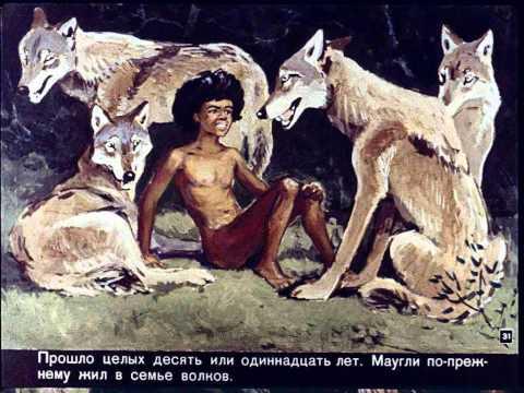 Маугли - Диафильмы