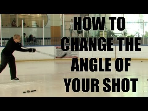 Dustin Brown Hockey Tips – How to change the angle of your shot