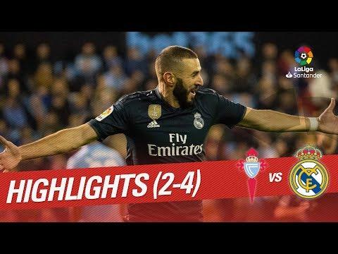 Resumen de RC Celta vs Real Madrid (2-4)