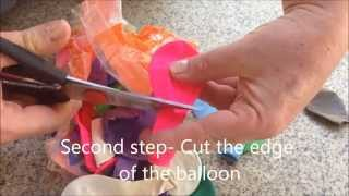 How to make shoes for dogs with balloons!