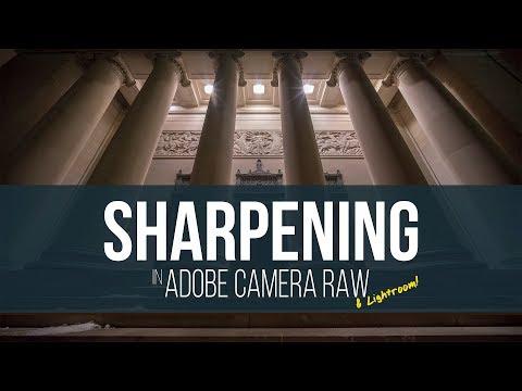 High ISO Sharpening in Adobe Camera Raw or Lightroom
