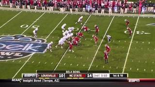 Markus Kuhn vs Louisville Belk Bowl