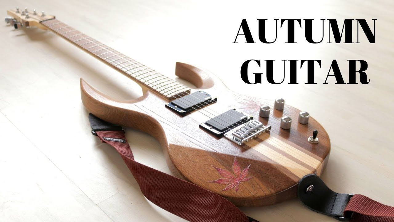 Making an electric autumn guitar – robot project