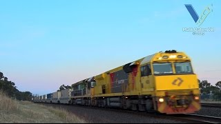 Geelong West Australia  City pictures : Trains Around Geelong - Australia