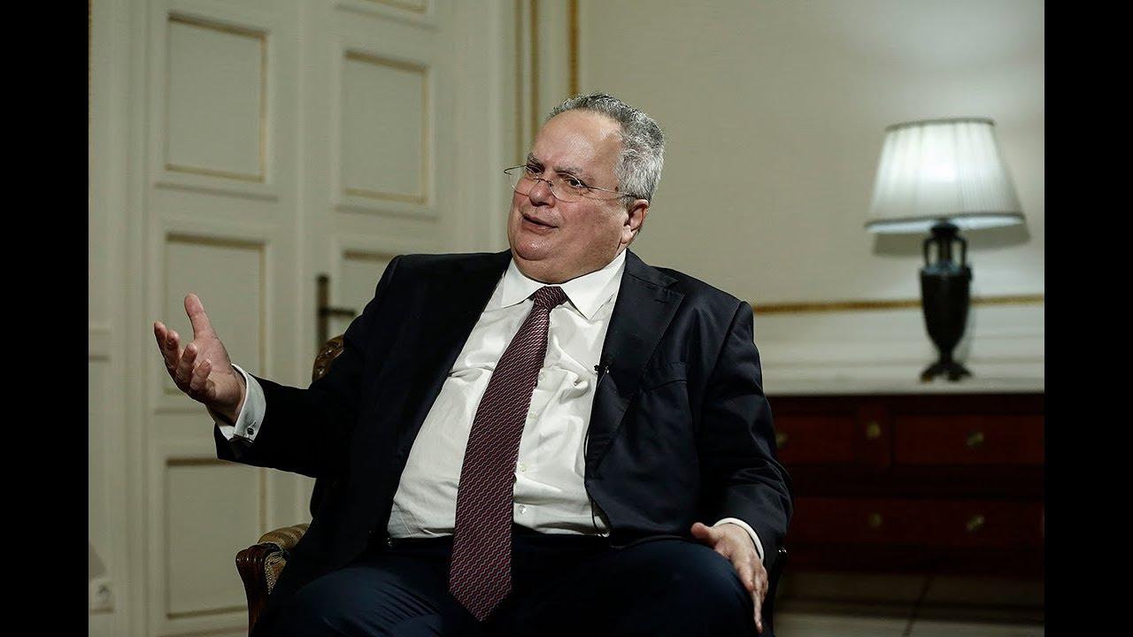 Ο Υπεξ Ν. Κοτζιάς για την επικύρωση της συμφωνίας απο την ελληνική βουλή