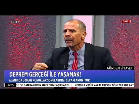 ER TV ''GÜNDEM SİYASET'' DEPREM KONULU PROGRAMIMIZ