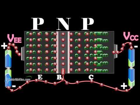 Pnp Tipi Transistör çalışma Ilkesi