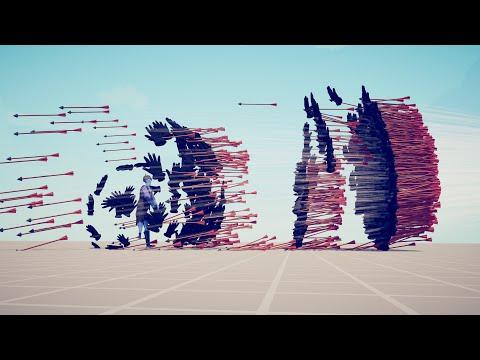 DARK PEASANT vs EVERY GOD - Totally Accurate Battle Simulator TABS