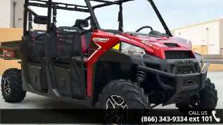 7. 2016 Polaris RANGER Crew XP 900-6 EPS Sunset Red  - RideN...