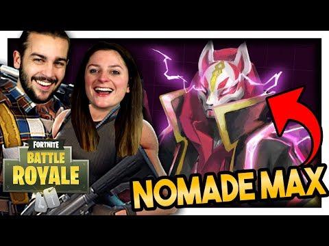 ON DÉBLOQUE LE SKIN NOMADE NIVEAU MAX ! | FORTNITE DUO FR