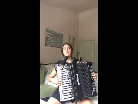 "A jazz arrangement of Taylor Swift's ""Shake It Off"" sung and played on accordion by one person."