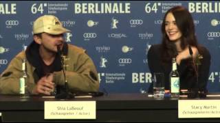 Shia LaBeouf Storms Out of Press Conference