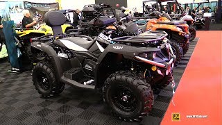 8. 2019 CfMoto C-Force 500 Recreational ATV - Walkaround - 2018 Drummondville ATV Show