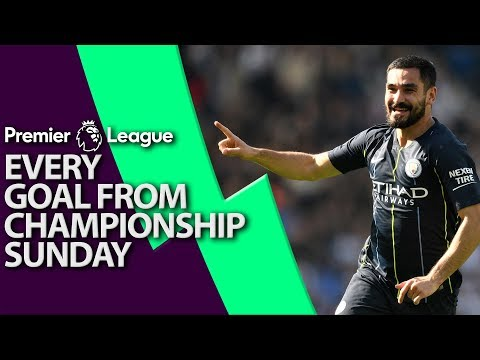 Every goal from Premier League Championship Sunday | NBC Sports