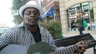 Walter Carter Blues Musician Maxwell And Halsted Streets 2011 By David Knoerr