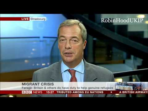 Nigel Farage Why Are Rich Arab States Not Taking Immigrants?