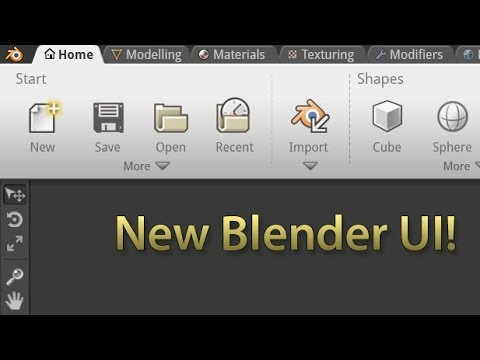 blender - Join the discussion: http://www.blenderguru.com/new-blender-ui-proposal This video outlines my proposed solutions to the current UI problems addressed in Par...