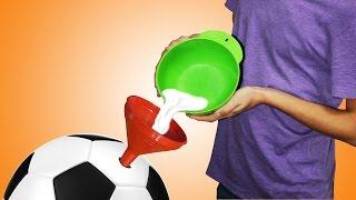 Как накачать мяч Видео! - www.fassen.net-Видео сёрфинг