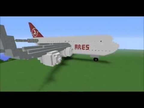 Uçağı birde Minecraft'ta görün :) Huge airplane! BUILDCRAFT
