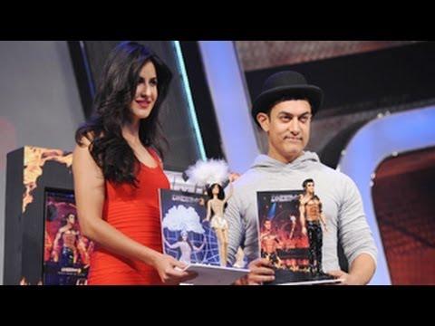 Dhoom 3   Merchandise & Technology Products Launch   Aamir Khan, Katrina Kaif