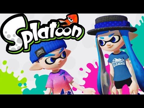 Splatoon Wii U Gameplay - Splatoon 2 Nintendo Switch Discussion - Splaturday Night LIVE Stream 60fps