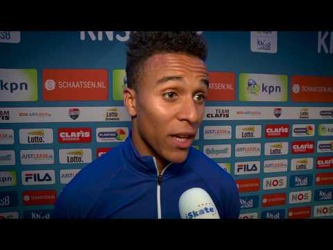 Ronald Mulder wint 500 meter tijdens KNSB-Cup; emoties bij Dai Dai