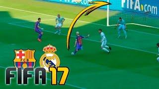 Video Real Madrid vs Barcelona | FIFA 17 - Santiago Bernabéu MP3, 3GP, MP4, WEBM, AVI, FLV Mei 2017
