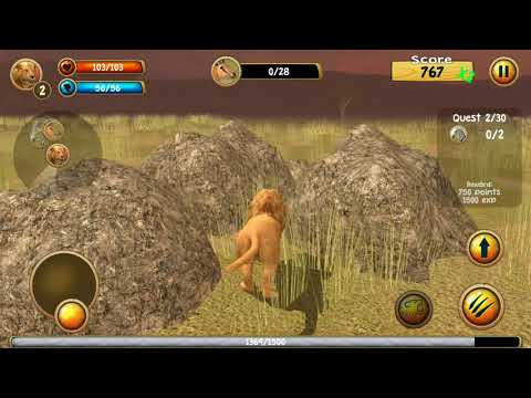WILD LION SIMULATOR ANDROID