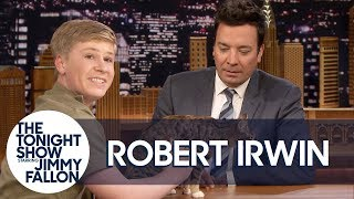 Jimmy Loses It with Robert Irwin on a Hot Mic Before Animals Segment