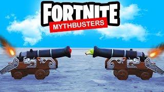 Fortnite Season 8 Mythbusters! (Cannon Experiments & More)
