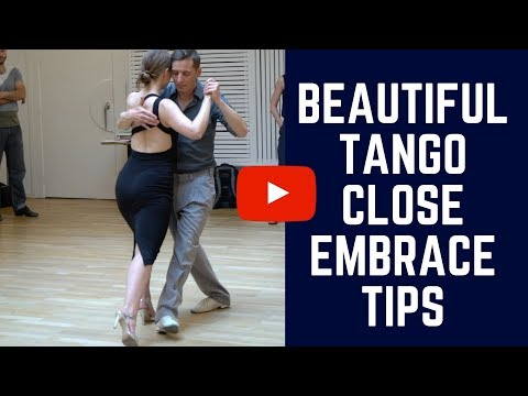 How to Dance Tango in Close Embrace: Do You Lean On Each Other?