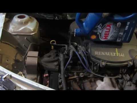 Какое масло заливать в двигатель рено логан 1 4 фото