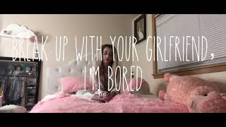 """Break up with ur girlfriend, I'm bored"" Emery bingham cover parody"