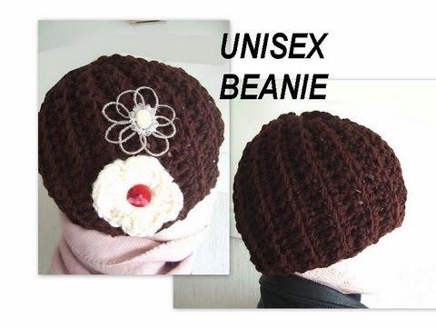 How to crochet a Unisex Beanie