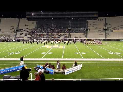 Killeen High School Marching Band at Floyd Casey Stadium 11 12 2011 against Granbury Pirates