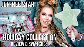 Jeffree Star Cosmetics Holiday 2019 Collection- Review & Swatches! by GRAV3YARDGIRL