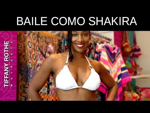 Baile como Shakira con esta Rutina de Abdominales de Bikini!