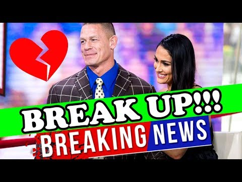 BREAKING NEWS: JOHN CENA AND NIKKI BELLA BREAK UP!