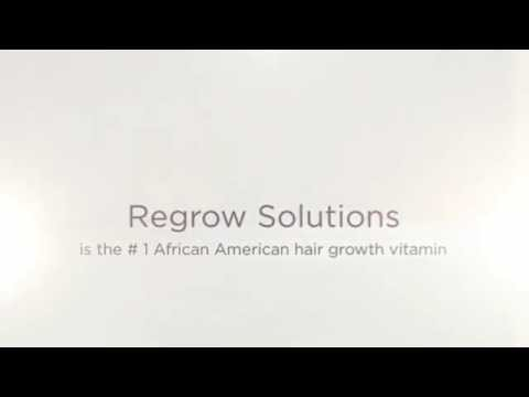 African American Hair Growth Vitamins on Amazon: Regrow Solutions